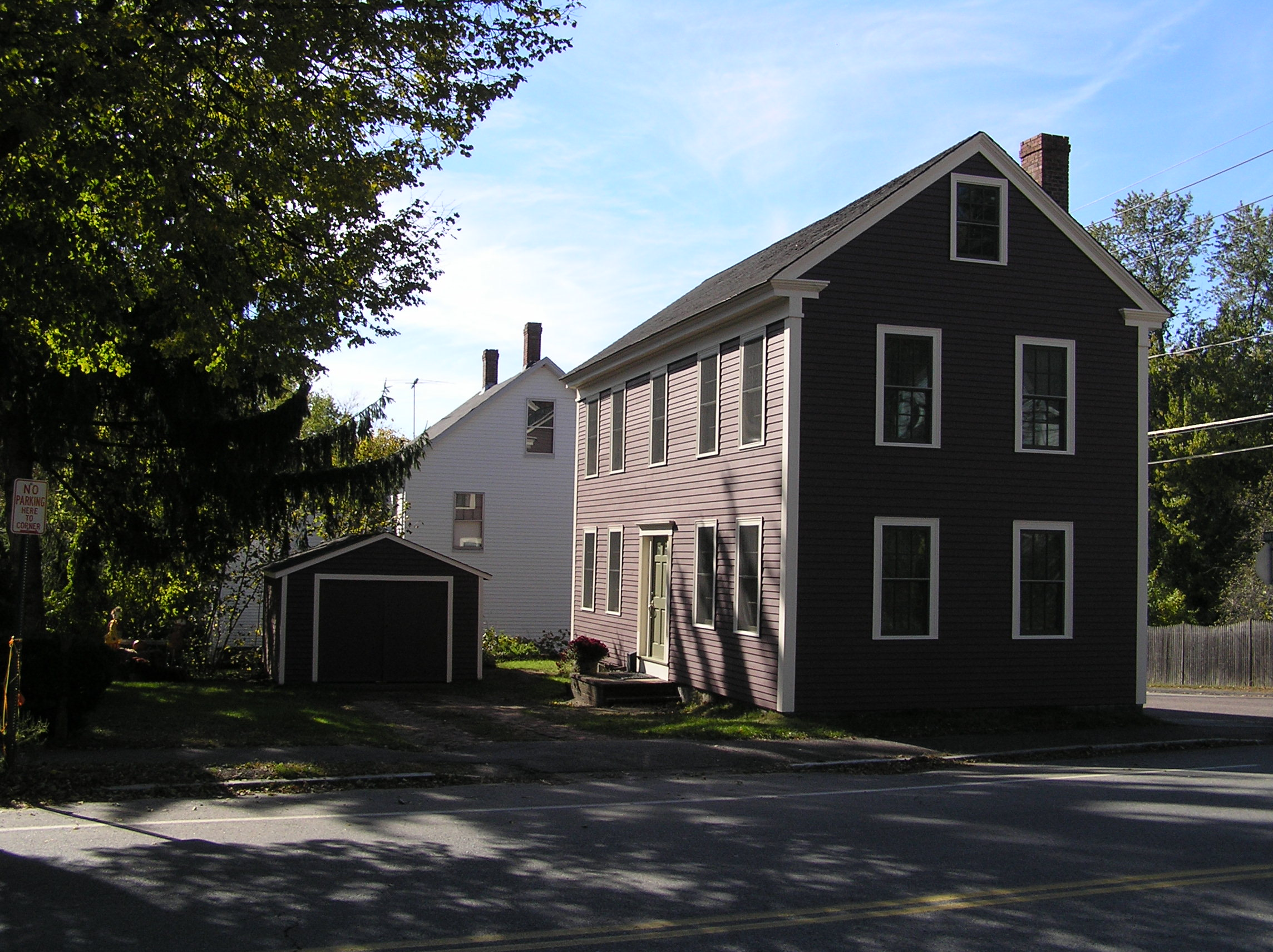 Baker house, 48 High St., Ipswich MA