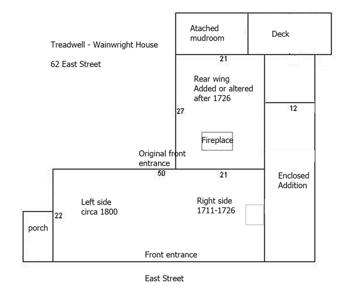Layout of 62 East St.
