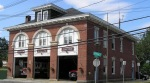 The Ipswich Fire Department building on Central Street was built for horse-drawn fire trucks