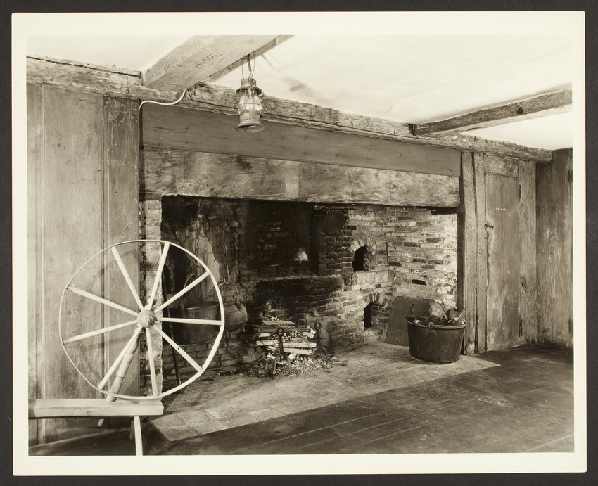 Fireplace in the Swett-Isley house