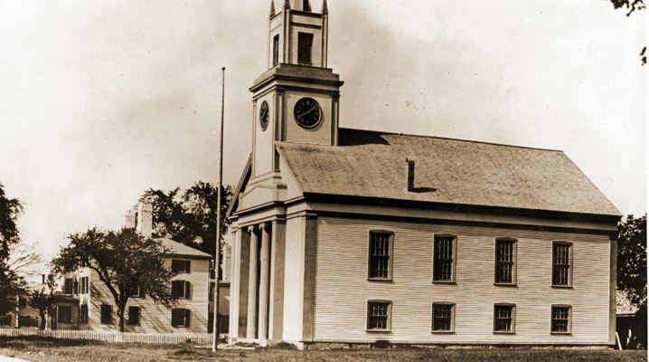 Hamilton First Church in the early 20th Century