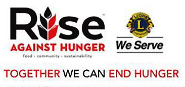 Ipswich Lions Club Rise Against Hunger