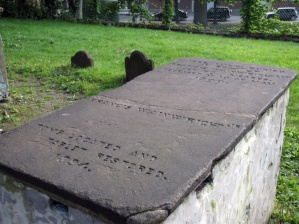 Tomb of Francis Wainwright at the Old North Burying Ground