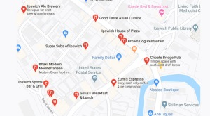 Restaurants in Ipswich MA