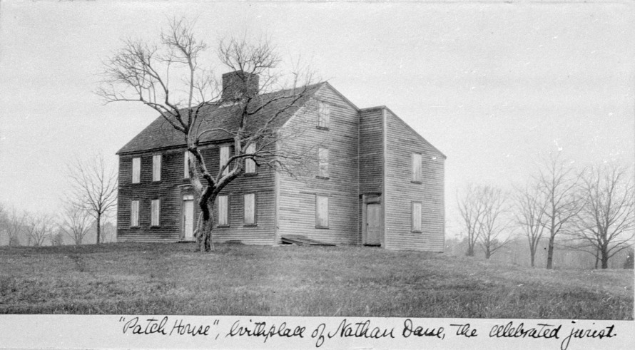 Patch-Dane house at Appleton Farms