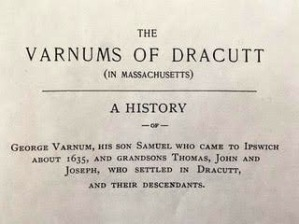 The Varnums of Dracutt