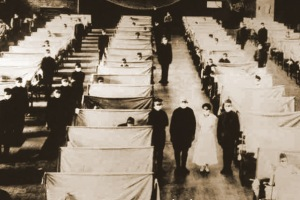 Treatment of 1918 flu victims