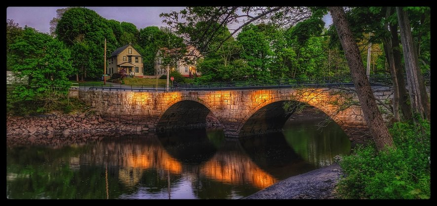 Green St. Bridge by Sharon Scarlata