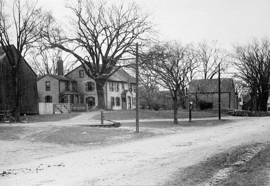 The Merchant-Choate house, early 20th Century. Photo courtesy of David Thayer