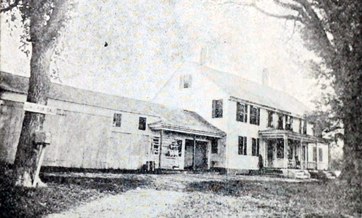 437 Linebrook Road, the Allen Perley farm (1784)
