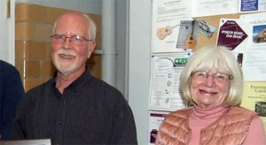 Gordon Harris and Ruth Strachan