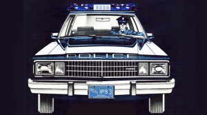 Ford Fairlane police cruiser