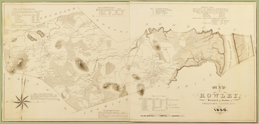 rowley-1830-map