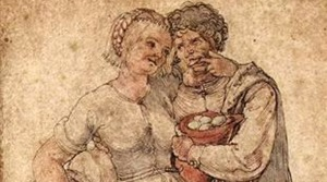 Amorous Peasants by Albrecht Durer