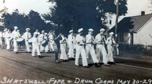 Shatswell Drum and Fife Corps, 1929