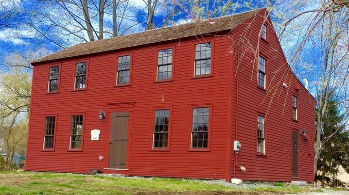 Isaac Morrill House, 48 Portsmouth Rd. Amesbury MA c 1680.