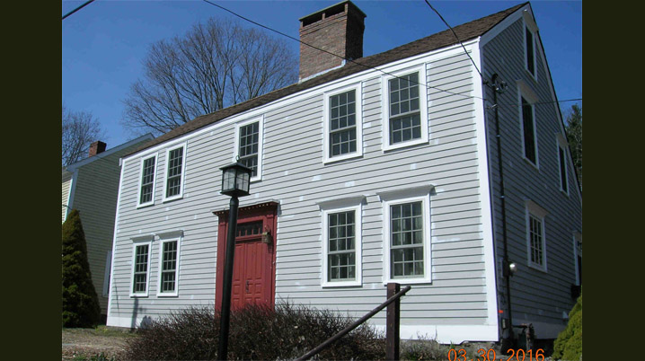 5 Andrews Street, Amesbury, the Charles B. Fowler house (c 1775)