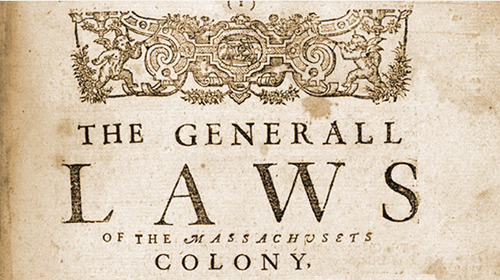 """The Body of Liberties, the """"Ipswich Connection,"""" and the Origin of written Constitutionalism in Massachusetts"""