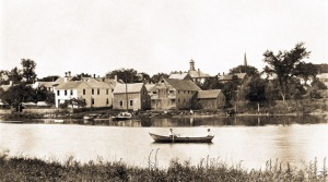 Historic photo of the Ipswich River