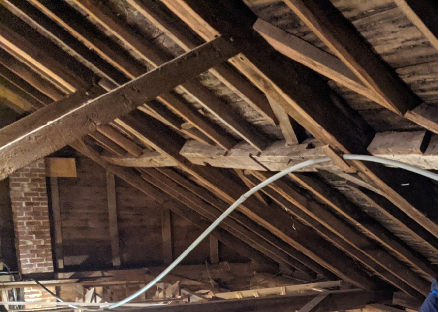 Purlins and diagonal traces