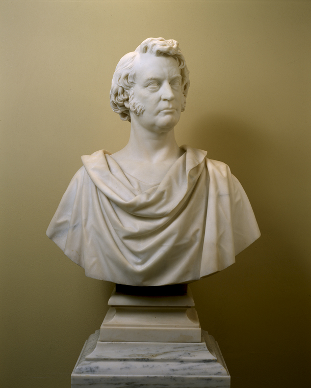 Bust of Charles Sumner in the U.S. Senate