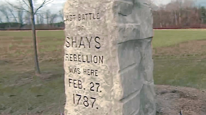 Shay's Rebellion Marker on Sheffield-Egremont Rd. in Western Massachusetts