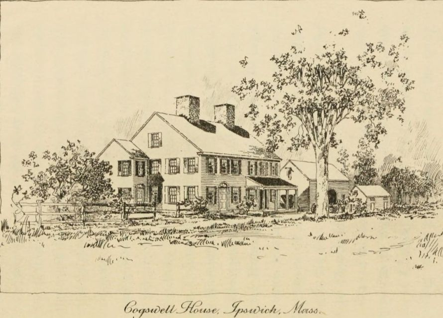 188 Argilla Road, the Oliver Cogswell house, 1815