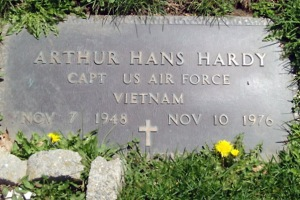 Arthur Hans Hardy killed in the Vietnam war
