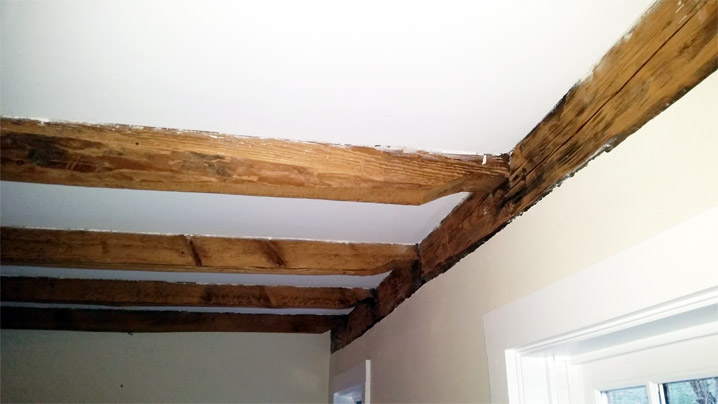 scalloped drop-in joists