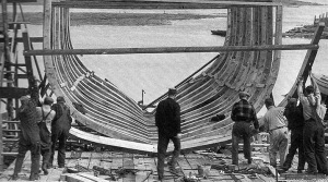 Building a schooner in Essex MA
