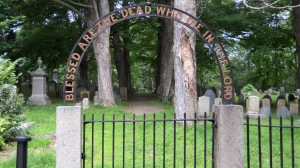 Old South Cemetery in Ipswich Ma