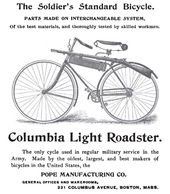 The Soldiers Standard Bicycle