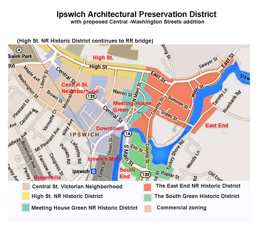 Proposed addition to Architectural Preservation District