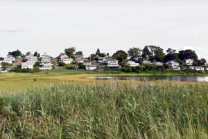 View of Little Neck from Little Neck Road