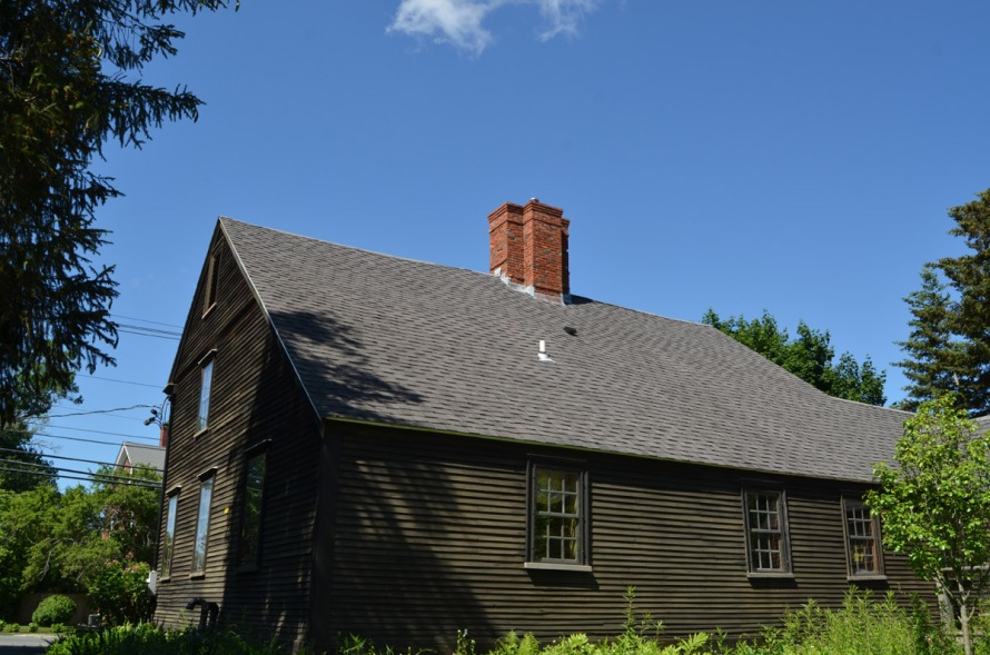 Saltbox extension at 115 High St.