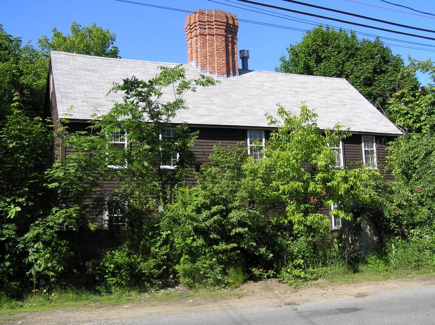 Andrew Burley House, Green St., Ipswich MA