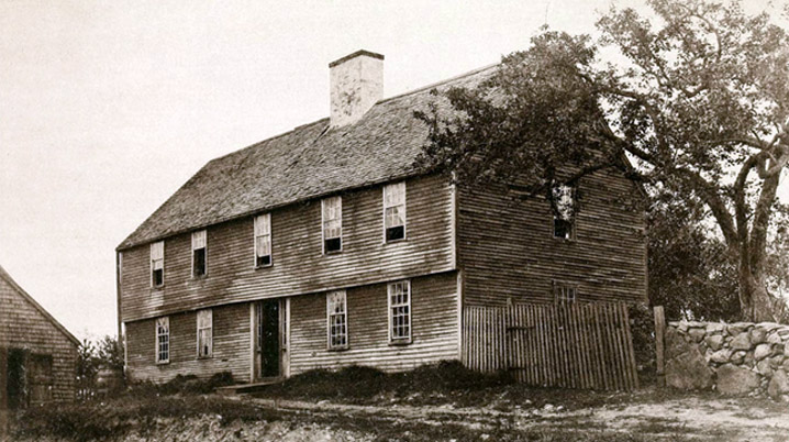 Homes of the descendants of Daniel Rindge and Mary Kinsman of Ipswich
